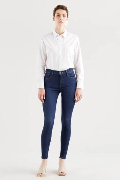 Levi's 720 High Rise Skinny Jeans Indigo