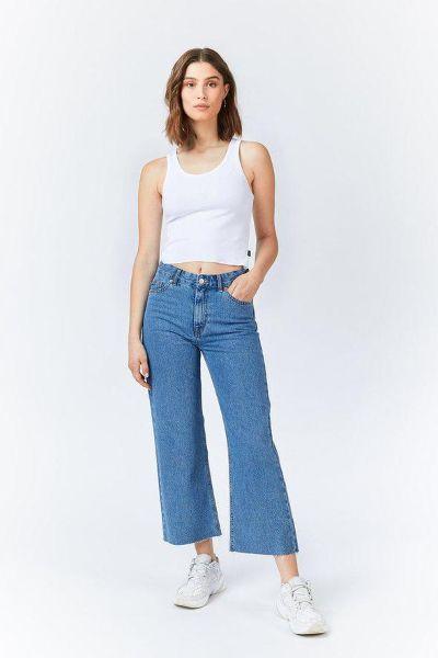 Dr.Denim Cadell Cropped Jeans Sky Blue