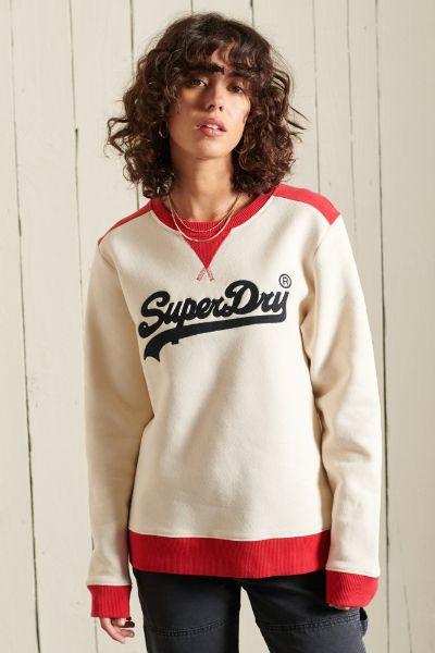 Superdry American Classic Crew Sweatshirt Oatmeal