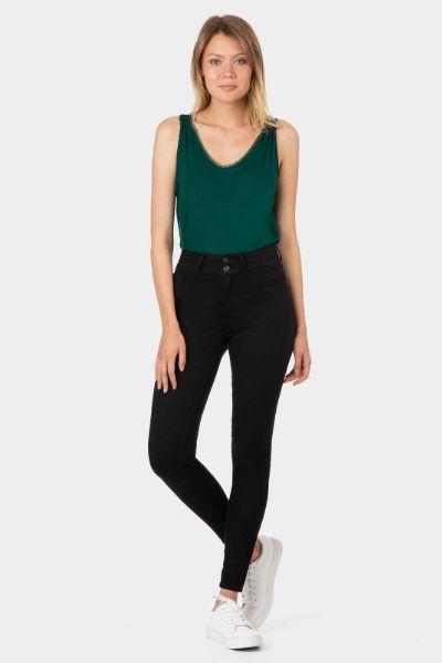 Tiffosi Jeans Double Comfort 10 Black