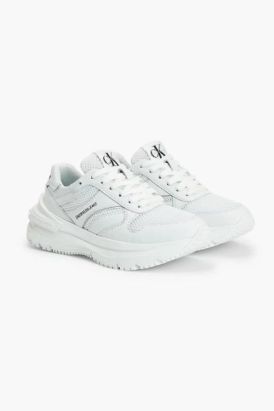 Calvin Klein Chunky Lace Up Sneakers White