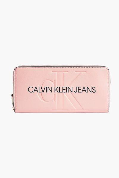 Calvin Klein Zip Around Wallet Blossom