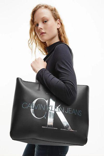 Calvin Klein Tote Shopper Bag Black