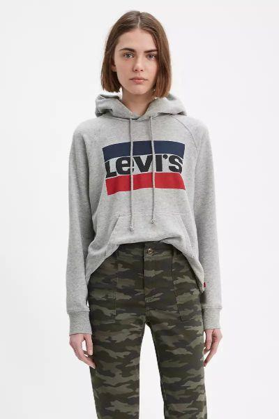 Levi's Graphic Standard Hoodie Grey