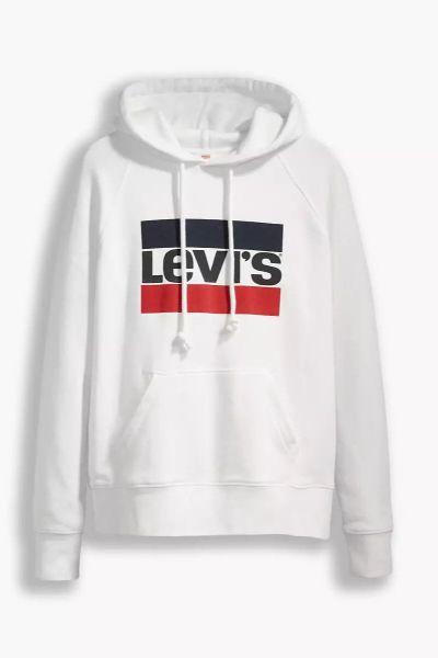 Levi's Graphic Standard Hoodie White