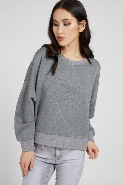 Guess Corina Sweatshirt Grey/Silver