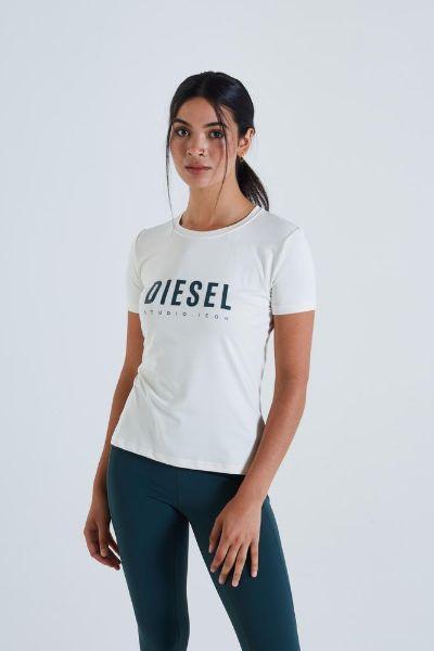 Diesel Katrice Tshirt Ivory/Green