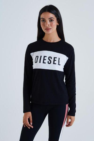Diesel Lavern L/S Tshirt Black