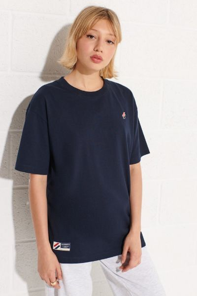 Superdry Code Essential Oversized Tshirt Navy