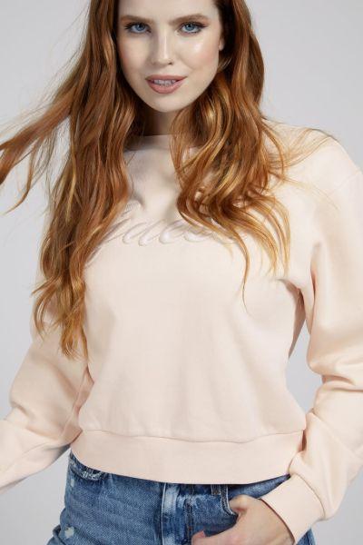 Guess Aureliana Embroidery Sweater Peach