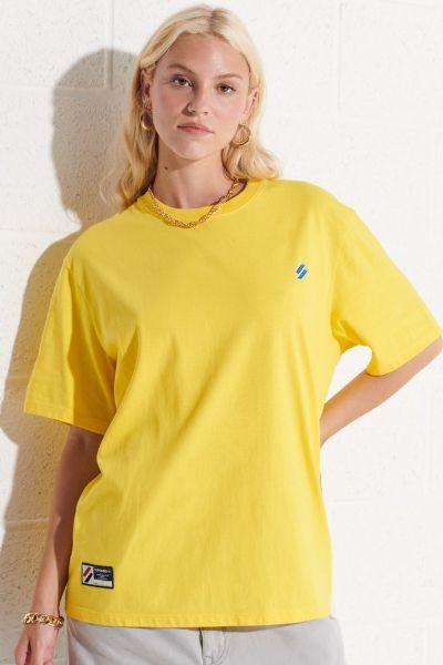Superdry Code Essential Loose Tshirt Yellow
