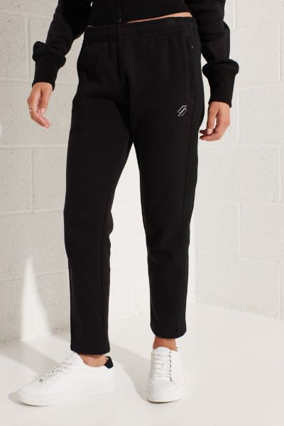 Superdy Code Trackpants Black